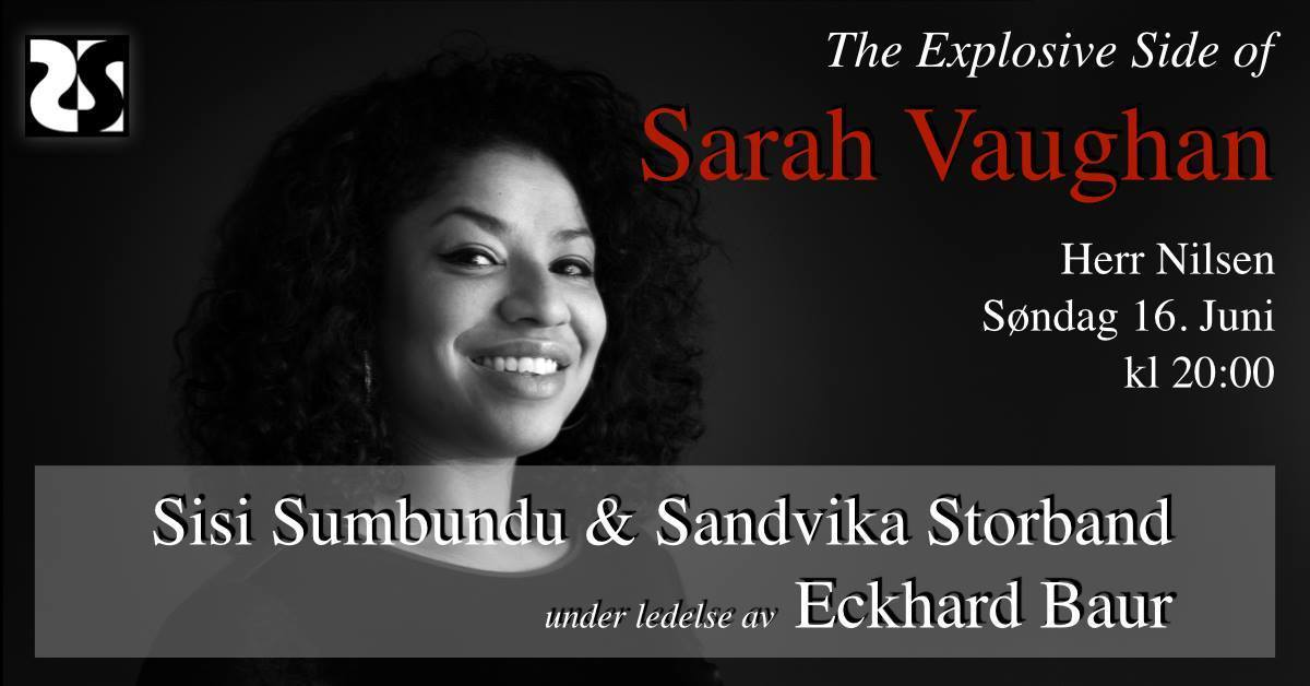 The Explosive Side of Sarah Vaughan - Sisi og Sandvika Storband